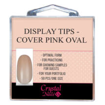 CN Cover Pink Oval Display Tips