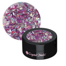 CN körömdísz rombusz flitter - 3D Violet dejavu
