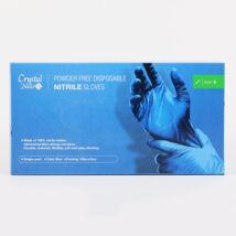 Kék nitril Gumikesztyű 100db - S