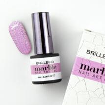 Marble Nail Art Lac - white 4ml