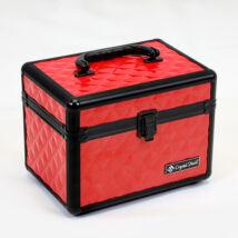 CN Fémbőrönd kicsi - Piros