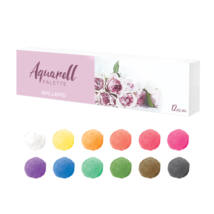 BB Aquarell paletta 12 darabos