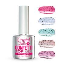 CN Confetti Top Gel - Matte Black 4ml
