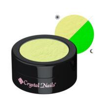 CN Glow pigmentpor - sárga