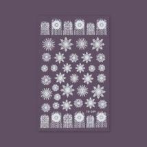 BB köröm matrica (Tomoni-289) - karácsonyi