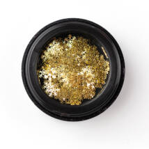 BB Snowflake díszítő - gold