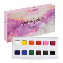 CN Aquarell paletta 12 darabos - Essential