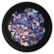 BB körömdísz- 3D háromszög Turquoise dejavu
