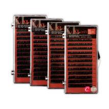 Lx Vegyes méretű pillák B/0.1 (8,9,10,11,12) - EC 4D volume dejavu