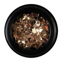 BB Nail art tégelyes díszítő -  metal flakes1