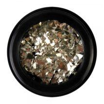 BB Nail art tégelyes díszítő -  metal flakes2