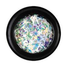 BB Nail art tégelyes díszítő vegyes - csillagos1 - zöld