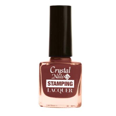 CN Stamping lacquer-csokoládébarna dejavu