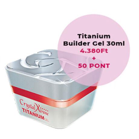 CN Titanium Builder Gel 30ml - Hűségpont akció - 50 pont