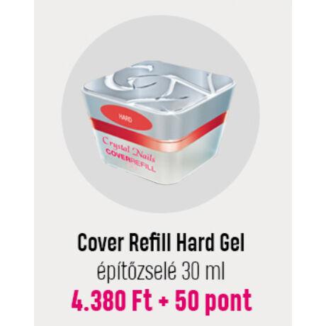 Crystal Cover Refill Hard Gel 30ml - Hűségpont akció - 50 pont