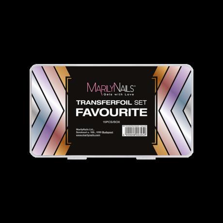 MN Transzferfólia Készlet - Favourite