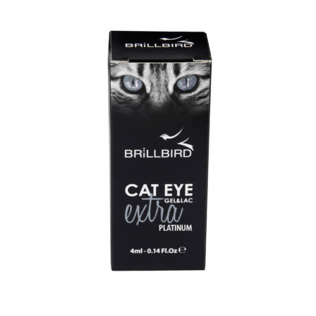 BB Cat eye gel&lac extra 4ml #platinum
