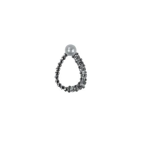 Nail Charm 4 ezüst
