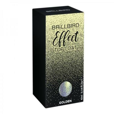 BB Effect Top Coat 4ml #golden