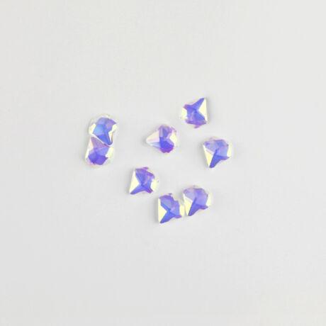 BB Formakövek (10db) -  Diamond 5mm Pink AB
