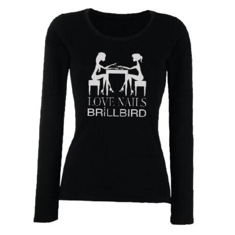 BB hosszú ujjú fekete póló XXL dejavu