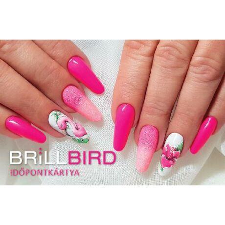 BB Időpontkártya #Flamingó