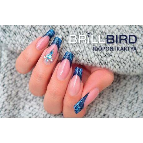 BB Időpontkártya #Kék Glamour