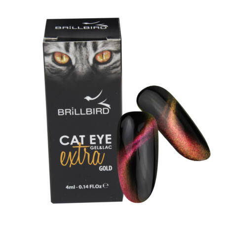 BB Cat eye gel&lac extra 4ml #gold