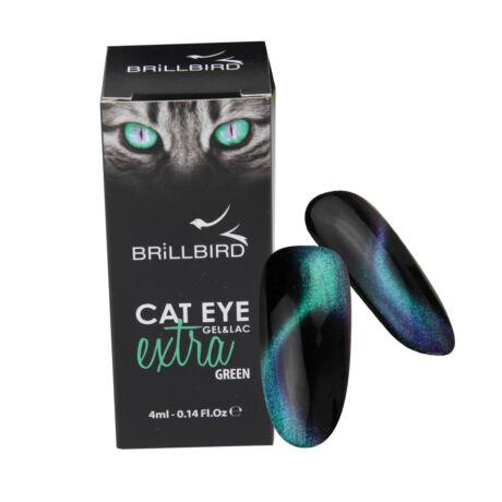 BB Cat eye gel&lac extra 4ml #green