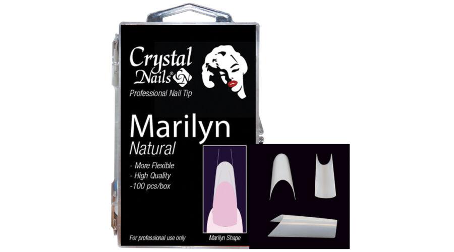 Marilyn Tip Box - Natural, műköröm tip, Marilyn box, CN
